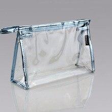Получать косметичка туалетные выбор конверт пвх прозрачный организатор макияж цвета сумки