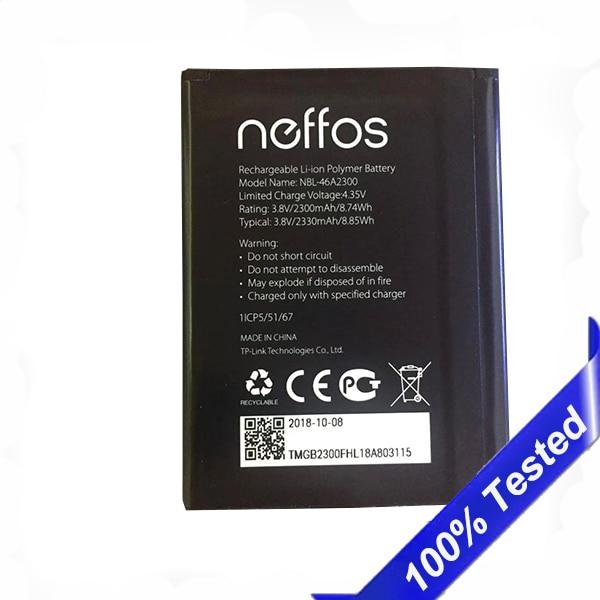 NBL-46A2300 For Neffos C7A TP705A TP705C Battery Batterie 2330mAh
