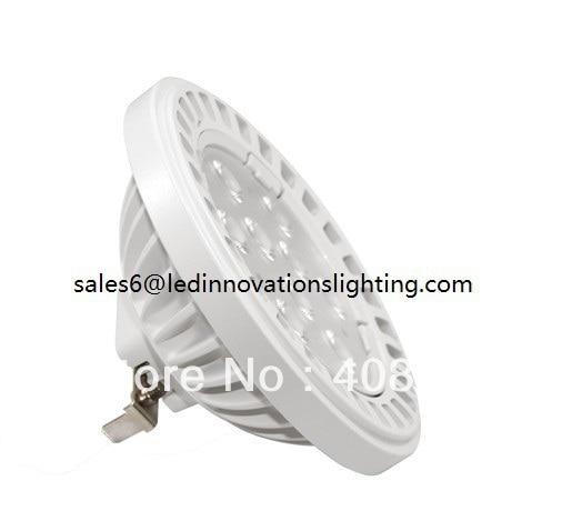 Envío gratis Ar111 G53 30 grados 15w 1300lm 12vac Cri80 blanco - Iluminación LED - foto 2