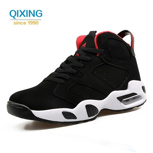 ... New Men Basketball Shoes High Top Breathable Sneakers Women Outdoor  Ankle Boots Men Women Basketball Sport ... e262f73121