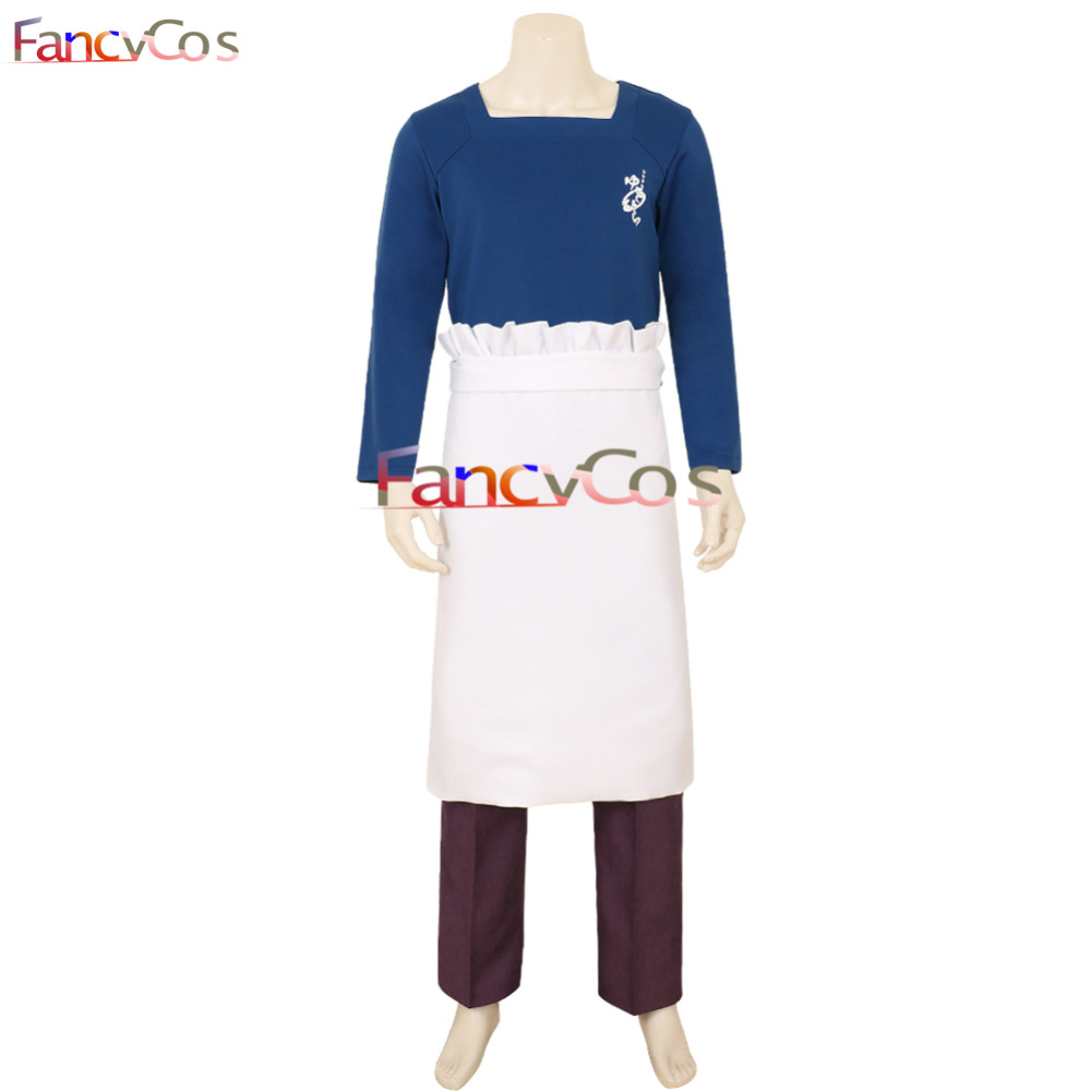 Halloween Food Wars!: Shokugeki no Soma Yukihira souma Cosplay Costume Anime Adult Costume Movie High Quality Deluxe Party Gifts