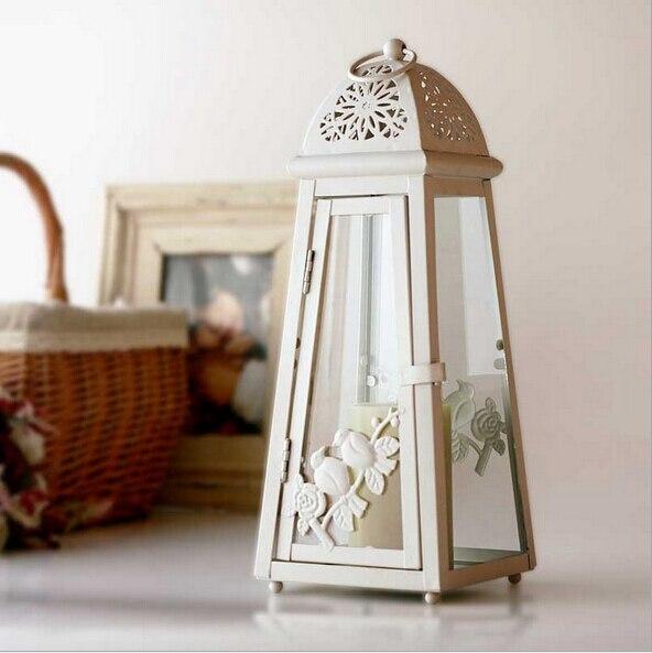 1 Stuck Mittelmeer Vintage Kerzenhalter Luxus Iron Bird