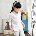 Kids Girl Cartoon Shirt Child Casual Blouses Girls Pattern Lace blouse Baby Girls Autumn Clothes Candy Colors Blouse for Girl