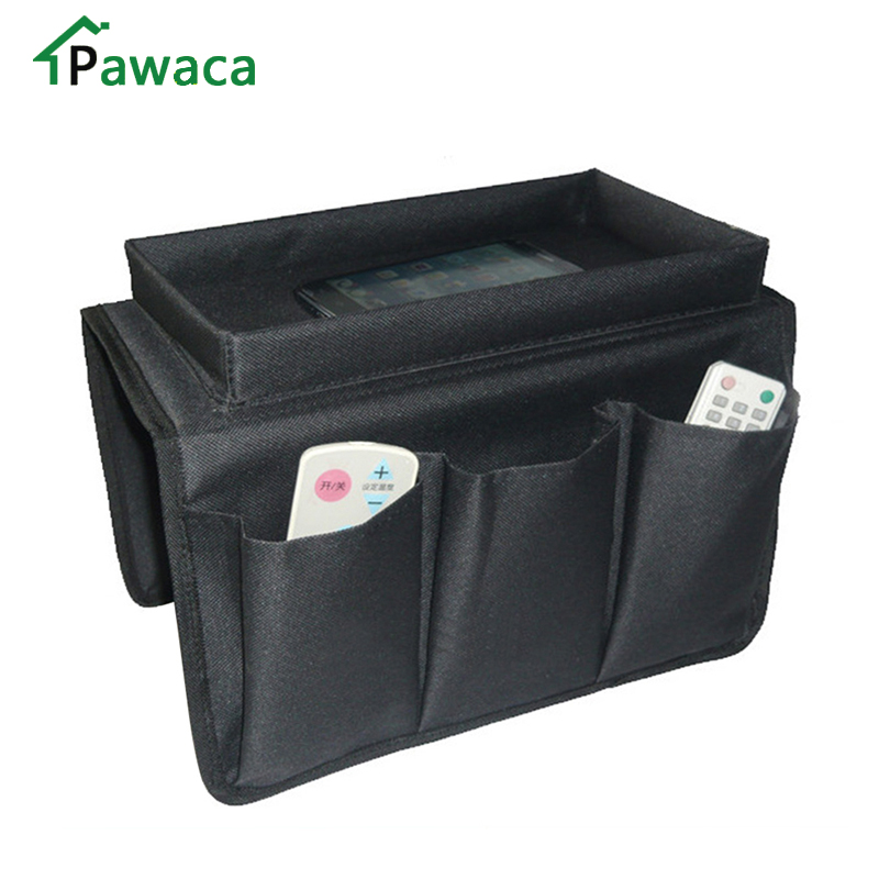 Pawaca Sofa Storage Bag Remote Control Holder Sofa Pocket