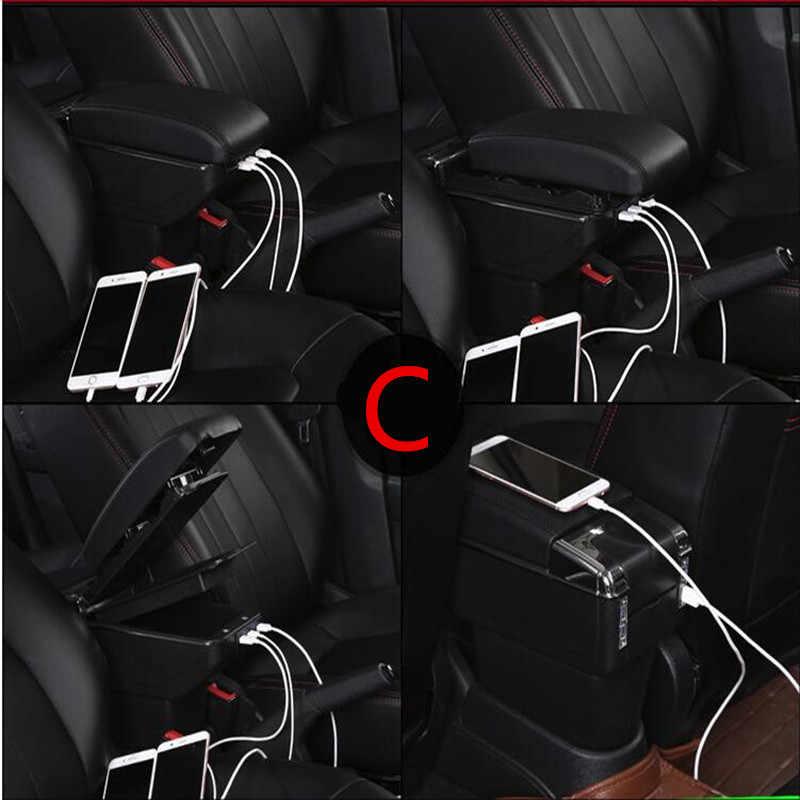 Pour toyota verso accoudoir boîte magasin central contenu boîte support de verre cendrier intérieur voiture-style décoration accessoires