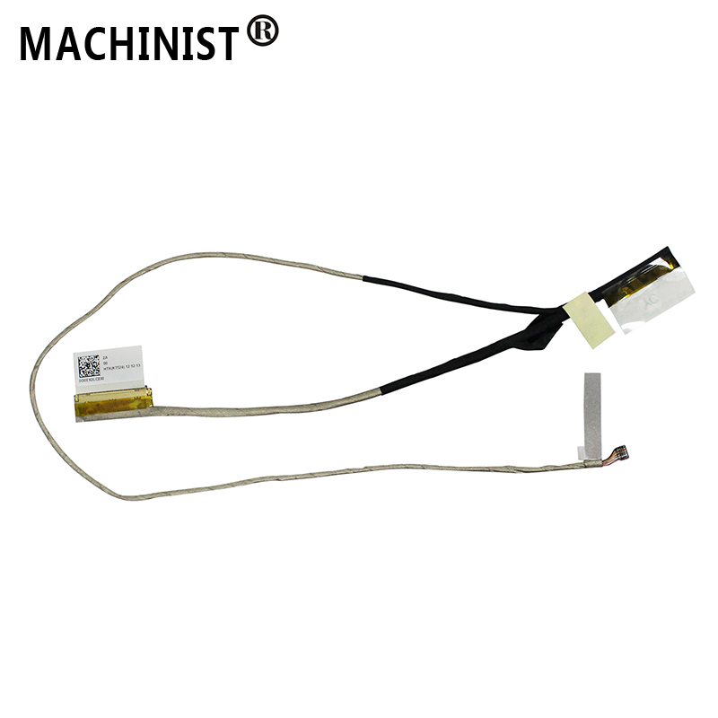 MACHINIST Video screen Flex For <font><b>ASUS</b></font> <font><b>X201E</b></font> X201L X201S X202E <font><b>Q200E</b></font> S200E laptop LCD LED LVDS Display Ribbon cable DD0EX2LC030 image