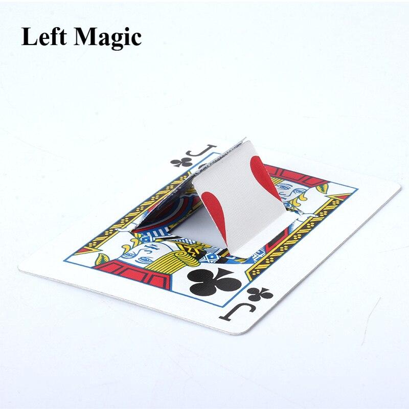 Metamorphose - Card Magic Tricks Playing Cards Change Point Magic Props Close Up Street Magic Illusion Gimmick