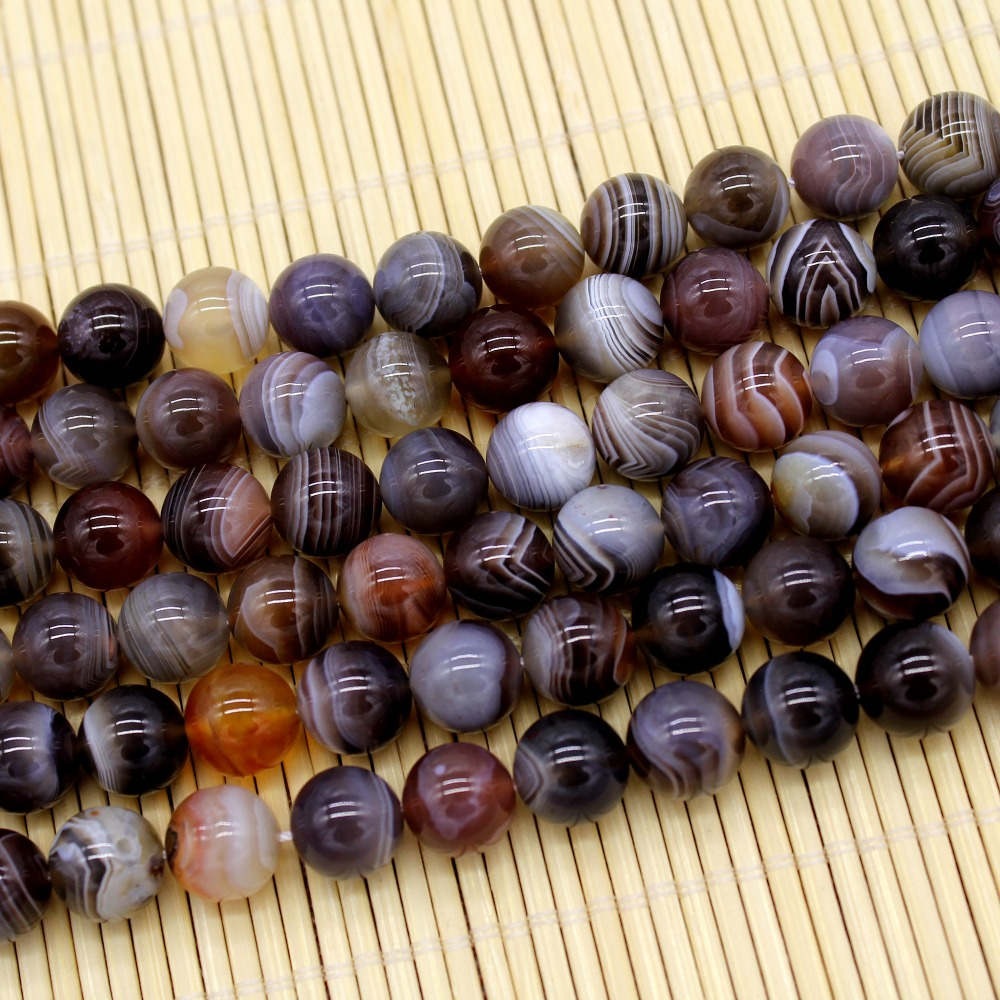 BLANC naturel du golfe Persique Agat Carnéol 2 mm 3 mm Round Gems Loose Beads 15/""