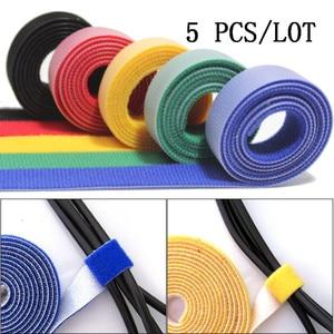 5pcs/LOT Nylon Cable Winder Wi