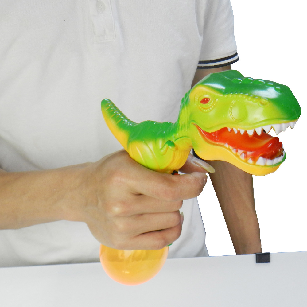 Kids Indoor Outdoor Squirt Toy Green Dinosaur Simulation Shooting Toy Gift