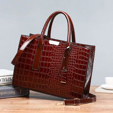Bolsa Mujer Taschen Für Frauen 2019 Luxus Handtaschen Frauen Taschen Designer Krokodil Muster Leder Schulter Messenger Tasche sac eine C824