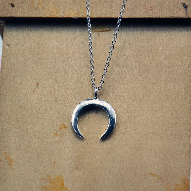Модное женское ожерелье из сплава, s& Кулоны, колье, ожерелье золотого цвета с кристаллами, ожерелье для женщин, подарок - Окраска металла: x87silver