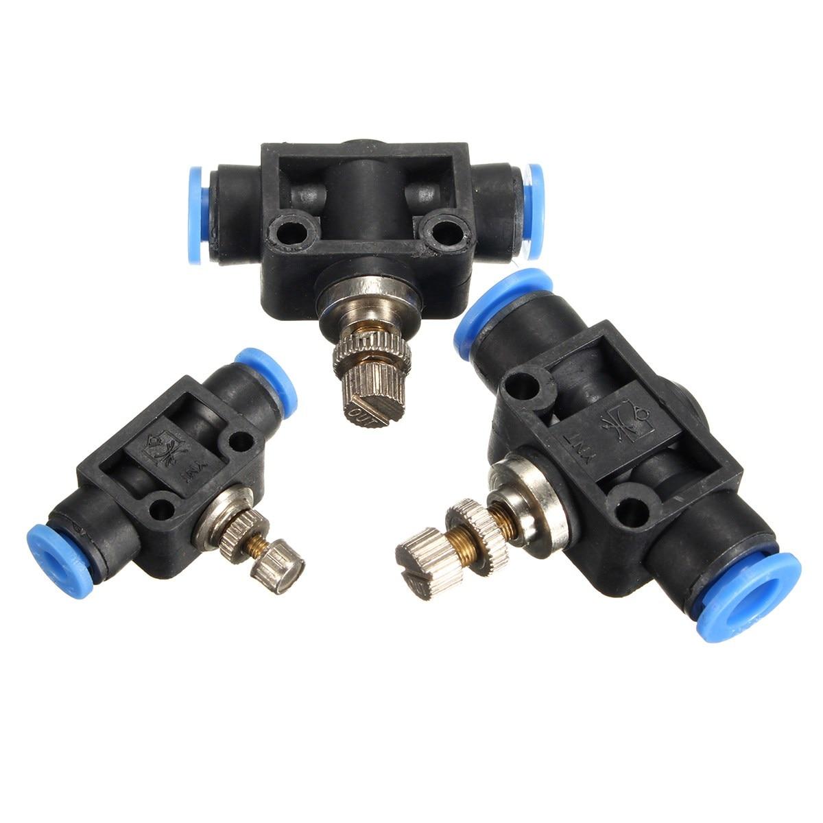 Ventil Diskret Gute Qualität 4/6/8mm Air Flow Speed Control Ventil Rohr Wasser Schlauch Pneumatische Push In Fitting Pa4 Pa6 Pa8 Ventil Kaufe Jetzt