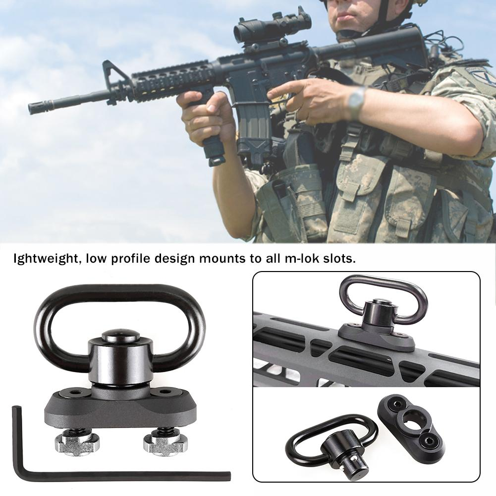 QD Sling Hunting Accessories Separate Buckle /Tactical Strap Connection For Guns Thread Strap Ring Airsoft Pistol Sling Swivels4