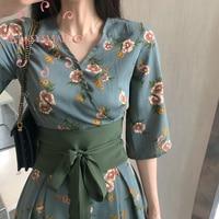 EASYSMALL Women dress Japan Style fashion Summer Sexy kimono high end Slim sweetwear High Waist short sleeve Dresses