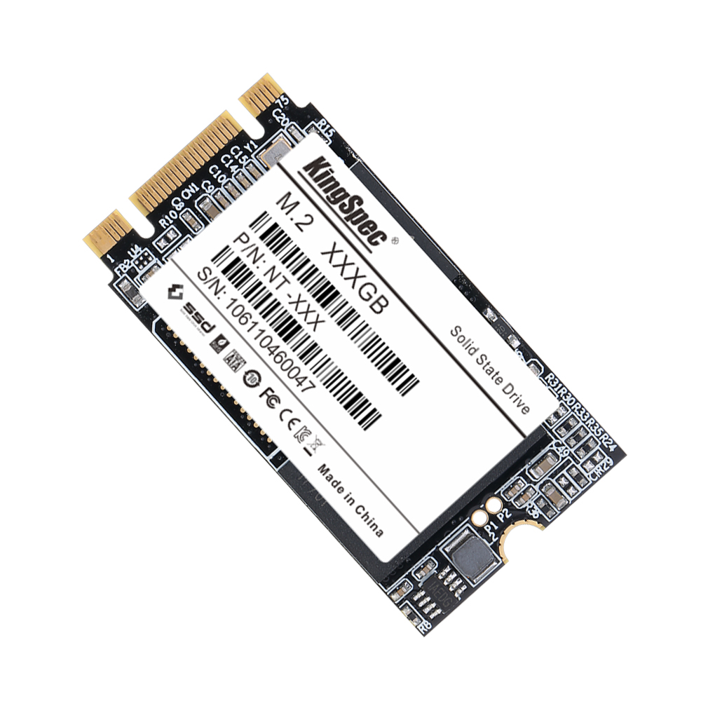 Kingspec M.2 ssd 2242 NGFF 2TB SSD 2242 1tb ssd hdd Internal Solid State Drive Hard Disk For Laptop PC Computer Ultrabook ezbook-in Internal Solid State Drives from Computer & Office    1