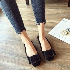 Image 5 - 2020 modne buty damskie wiosna jesień mieszkania miękkie Slip On kobieta balet pojedyncza klamerka do butów damskie damskie obuwie Plus size