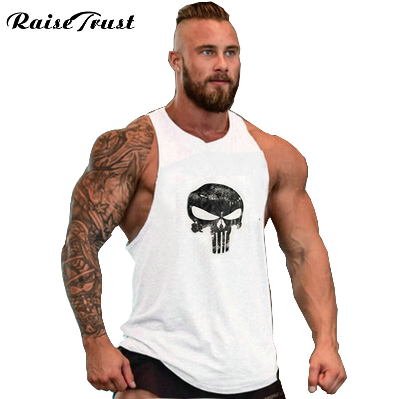 eb3df9c5d9494 fitness! Cotton Tank Top Men vest Bodybuilding and Fitness Clothing Muscle Tops  Sleeveless Shirt Brand World of Tanks