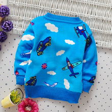 Boy Cotton Sweaters Baby Kids Warm Clothes