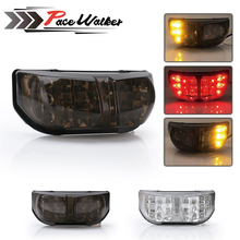 Free Shipping Motorcycle Turn Signal Light Tail Stop Brake Integrated Lamp LED Tail Light For Yamaha FZ1 FZ8 2006-2012