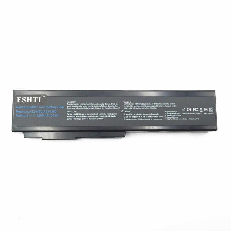البطارية ل Asus N53S N53SV A32-M50 A32-N61 A32-X64 N53 A32 M50 M50s A33-M50 N61 N61J N61D N61V N61VG N61JA N61JV bateria