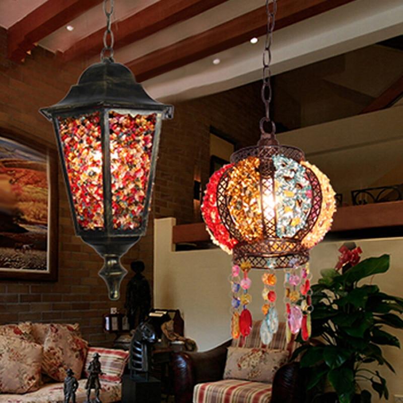 Кава люстра люстра американське село - Внутрішнє освітлення - фото 4