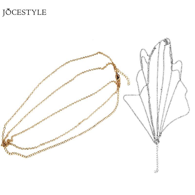 Head Chain Jewelry Multiple Layer Hair Chain Jewelry Romantic Bride Wedding Hair Accessories Ornament Boho Hair Chain Jewelry