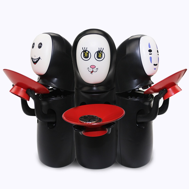 Spirited Away Kaonashi No-Face Piggy Bank Toy Multi Stiles Miyazaki - Խաղային արձանիկներ - Լուսանկար 3