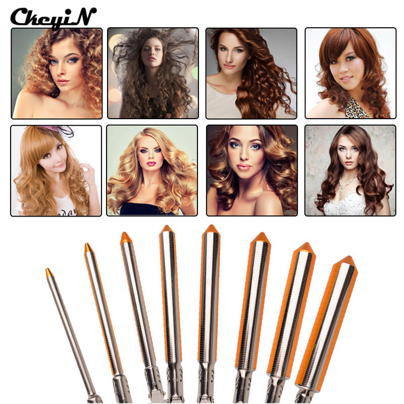 Professional Hair Curling Irons 9/13/16/19/25/31mm Magic Curly Wand Tool Deep Hair Curler Electrical Deep Wave Hair Waver S43 ckeyin 9 31mm ceramic curling iron hair waver wave machine magic spiral hair curler roller curling wand hair styler styling tool