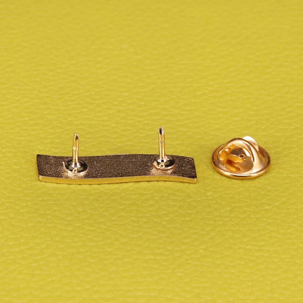 Femminista AF dello smalto pin viola banner spilla femminismo attivista pins ragazza power distintivo artista del regalo dei monili per le donne accessori