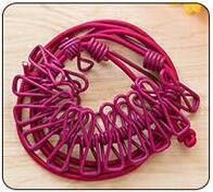 Многофункциональная уличная походная портативная ветрозащитная эластичная бельевая верёвка