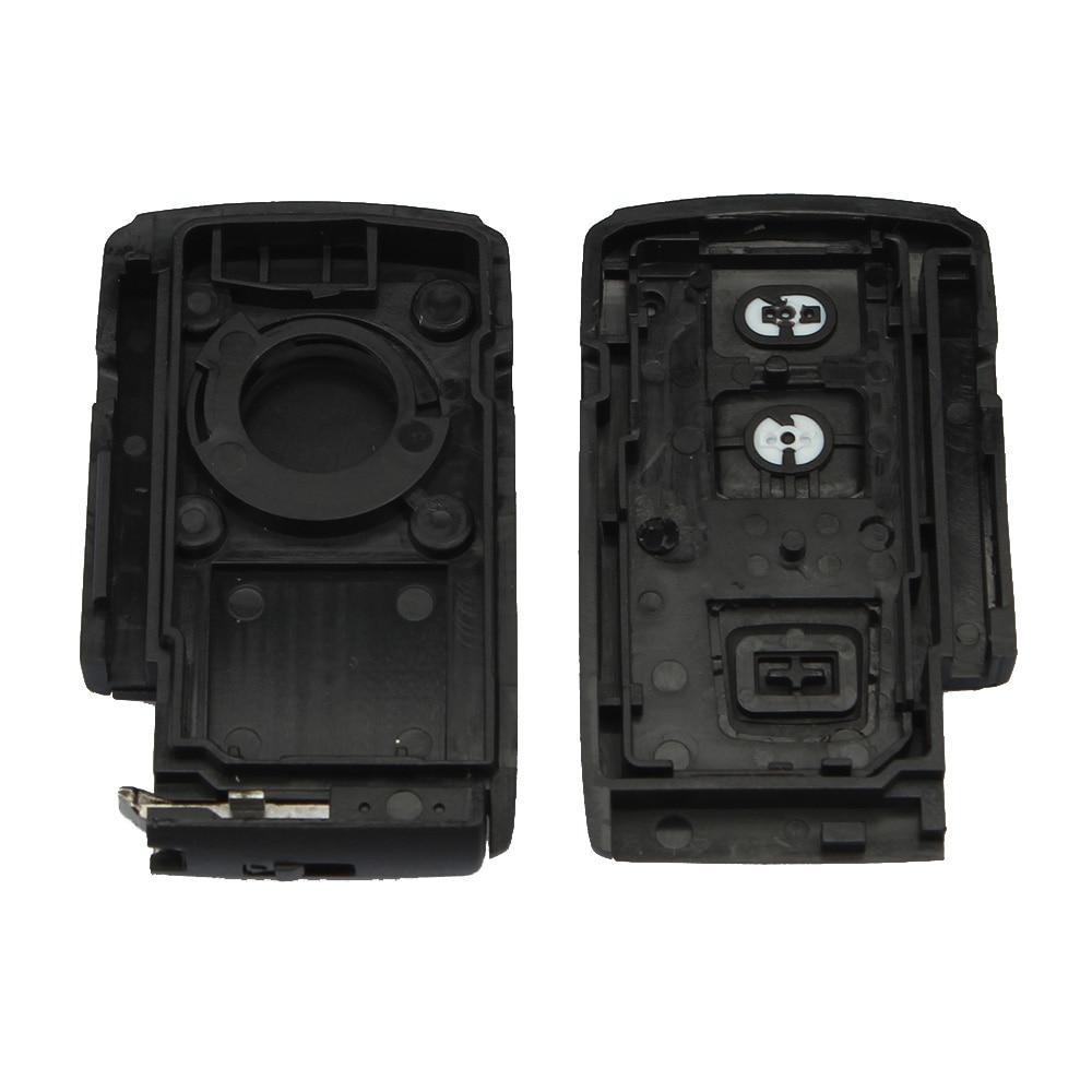 2Knapper Smart Key Remote Fob Case Key Shell Til TOYOTA Prius 2004 - Bilreservedele - Foto 4