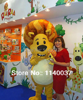 mascot Christmas Mascot Costume Lion Adult Mascot Costume Cartoon Character Outfit