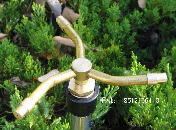 4 Stars Rotating Copper Micro Gardening Lawn Sprinklers