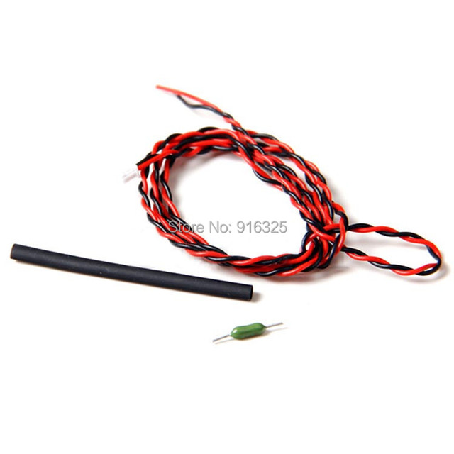 External 70V Voltage Sensor Cable R7008SB Rx for futaba 14SG 18MZ