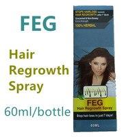 FEG Hair Regrowth Spray 2016 New Products Russian Version FEG Hair Loss Treatment Herbal Liquid For