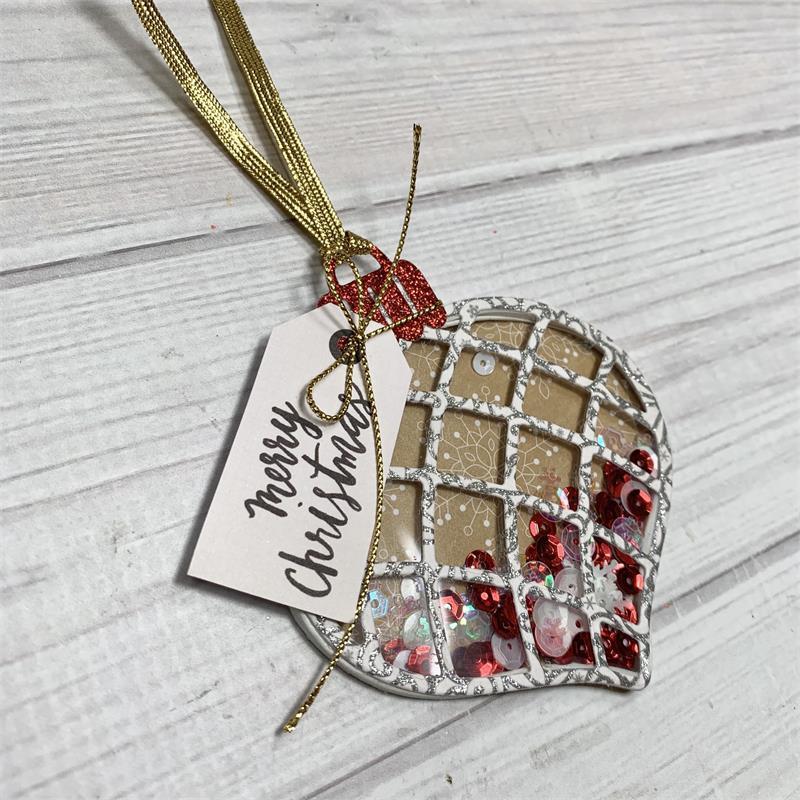 KSCRAFT Christmas Shaker Ornament Metal Cutting Dies Stencils For DIY Scrapbooking/photo Album Decorative Embossing Paper Cards