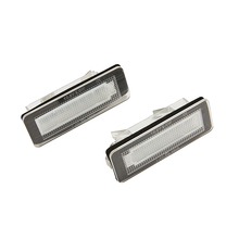For Mercedes Benz Smart Fortwo W450 W451 W453 LED rear number plate lamps 2pcs/lot Canbus No Error Code car-styling Accessory