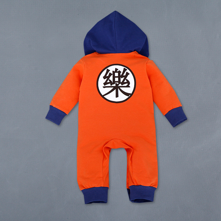 Cartoon Dragon Ball Z Baby Rompers Newborn Baby Boy Clothes Christmas Costumes Boy Girl Clothing Toddler Girls Halloween Clothes