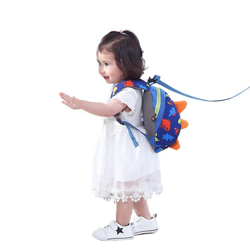 SUNVENO 귀여운 만화 유아 베이비 하네스 배낭 가죽 끈 - 키즈 활동 및 기어