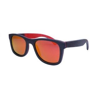 Image 3 - BerWer 2020 men wood Sunglasses New Polarized women black Skateboard Wood sunGlasses wooden Eyewear