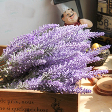 Romantic Provence decoration lavender flower silk artificial flowers grain decorative Simulation of aquatic plants fake