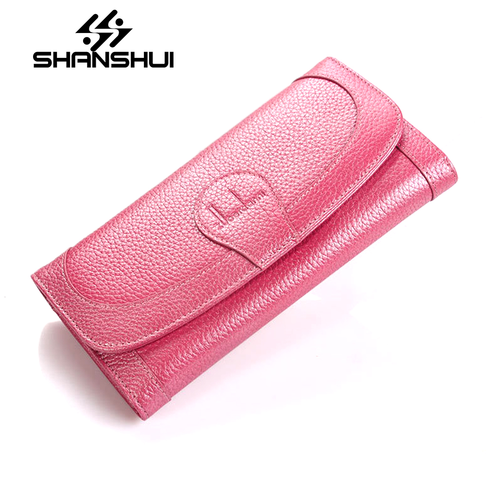Hot Sale Women Clutch 2018 New Wallet Split Leather Wallet Female Long Wallet Women Zipper Purse Strap Coin Purse For iPhone 7 new women fashion leather hasp tri folds wallet portable multifunction long change purse hot female coin zipper clutch for girl