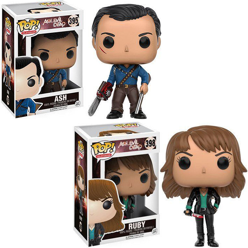 Funko POP The Evil Dead ASH  RUBY PVC Action Figure Collectible Cartoon Figure Toys For Kids Birthday Gift