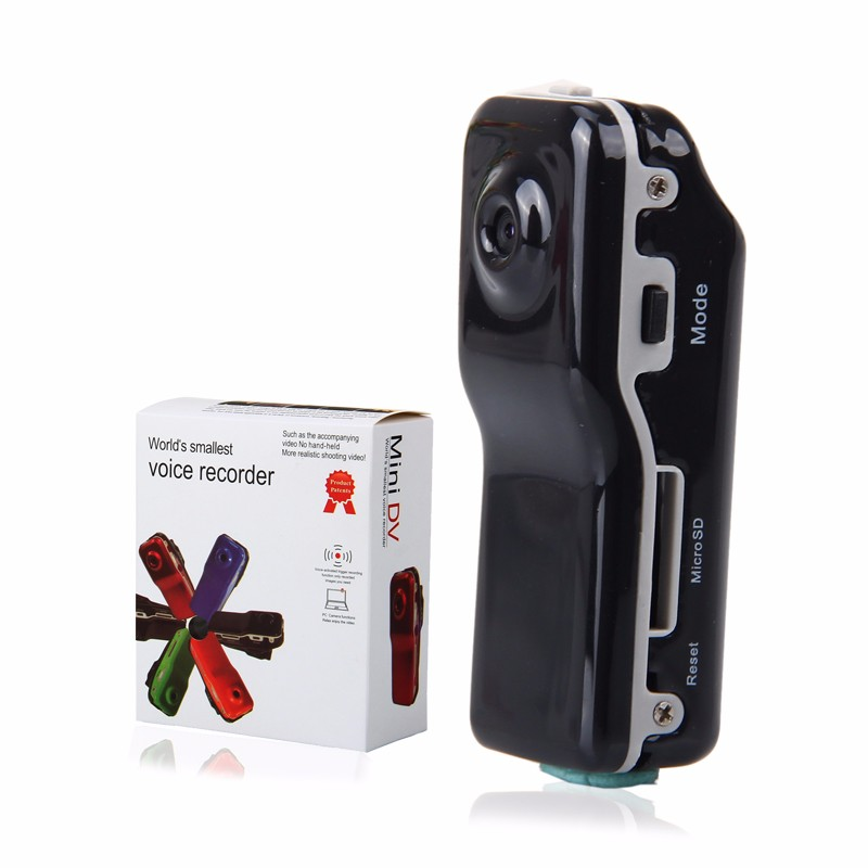 MD80 Mini DV Camcorder DVR Video Camera Webcam HD Cam Sports Helmet Bike Motorbike Camera Video Audio Recorder Support 32GB