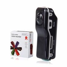 MD80 Mini DV Camcorder DVR Video Mini Camera Webcam HD Cam Sports Helmet Bike Motorbike Camera Video Audio Recorder Support 32GB tanie tanio Do użytku domowego 720P (HD) Przenośne Cmos 1 3 4 cala Elektroniczna stabilizacja obrazu 101g-150g 1-2 mln euro DYSK twardy pamięć Flash
