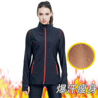 Sweats, long sleeves, women's fitness suits, stuffy sweats, running exercises, fat burning sweats, Ms. Y269