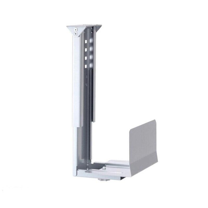 Universal Gray Computer Cases Stents/Host hanger Towersa Adjustable Mobile Computer Host host Bracket Casing Hanger Host Metal host uab cd