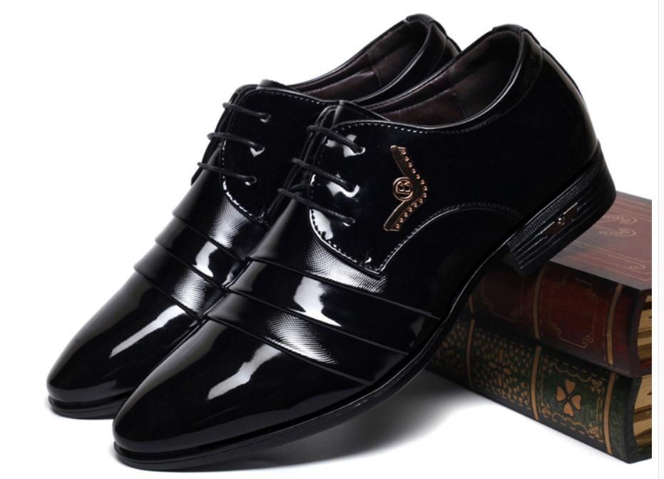 Hommes Arder Noir 2018 Envoyer Chaussures Mode Printemps talon Au Faible Pointu Fin Livraison De Et Automne qzE1wnFxZZ