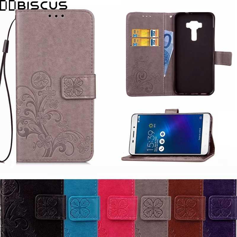 best website 803d2 90338 Flip Leather Wallet Case For Asus ZenFone 5 2 3 3S Max Pro ZC521TL ZE554KL  ZE552KL ZE520KL ZC551KL ZC520TL ZC553KL ZC554KL Cover
